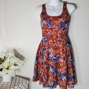 American Rag Cie Floral Dress Size XS